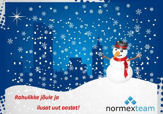 Normexteam_joulukaart